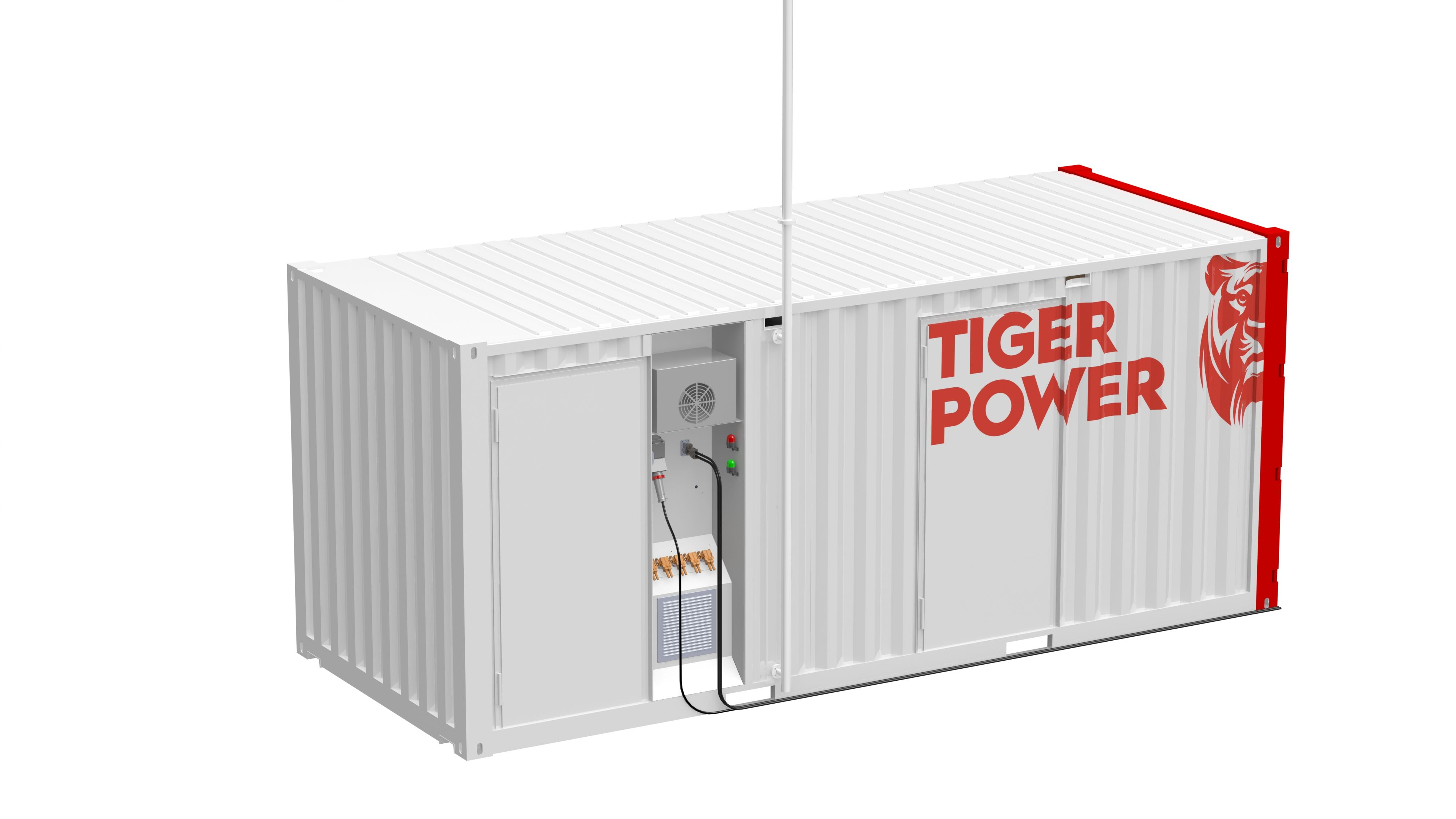 Tiger Power container  © Tiger Power