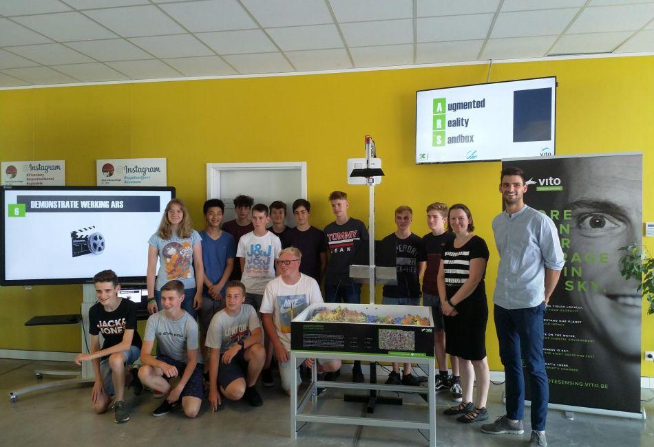 Groepsfoto klas SCC Arendonk