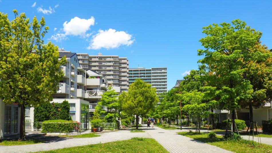 Woonwijk Tokyo