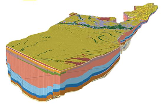 VITO - 3D grensoverschrijdende (hydro)geologische modellen (H3O-Roerdalslenk, H3O-De Kempen)