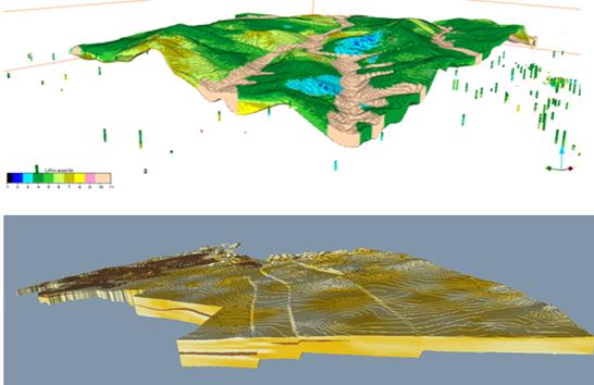 VITO - 3D voxel-modellen voor grondstoffen (leem, grind en zand)